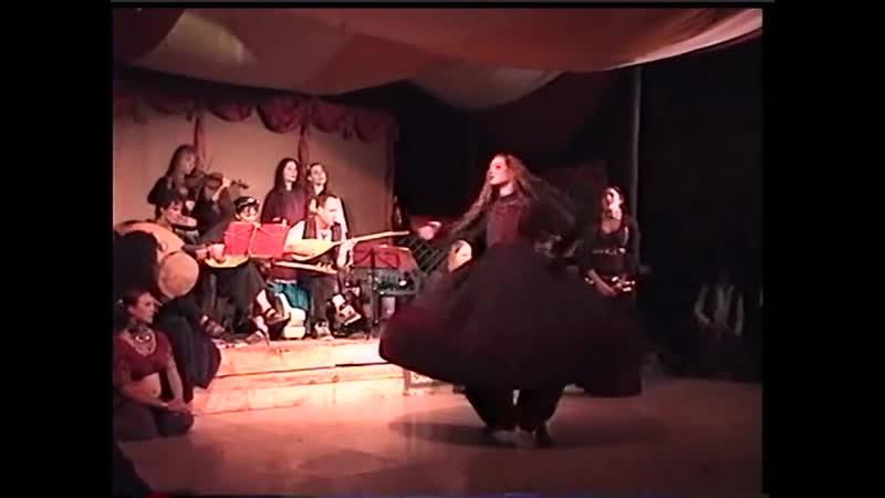Aywah at the Mill Mira dancing Dervish 2000