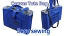 캔버스백 만들기/가방 만들기/Make a bag/Making Canvas Bag/キャンバスバッグを作る/Mach eine Tasche/做一20