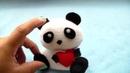 Tutorial/ OSO PANDITA ENAMORADO. (◕ ‿‿ ◕)/ how to make a panda plush in love