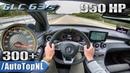 950HP MERCEDES GLC 63 S AMG GAD Motors 300km/h AUTOBAHN POV by AutoTopNL