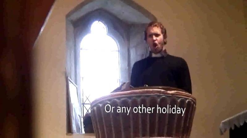 Death metal vicar