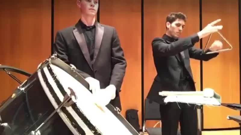 Соло на треугольнике-LSU Symphonic winds