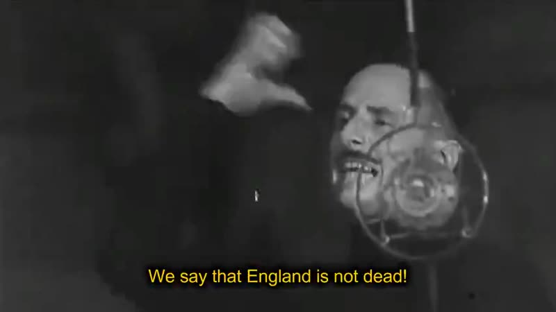 Sir Oswald Mosley Send to All the World a Message
