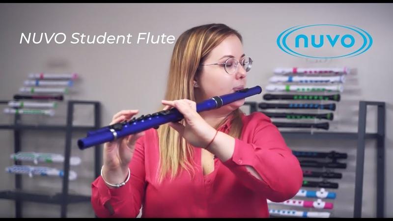 Пластиковая студенческая флейта Nuvo Student Flute