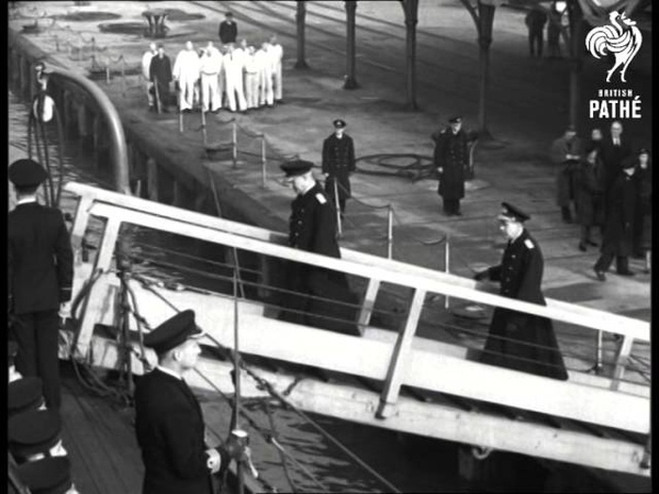 Funeral Of Sir Dudley Pound (1943)