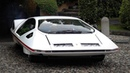 Ferrari 512 S Modulo Pininfarina CRAZY 70s Concept in Action Start Up Driving Exhaust Sounds