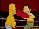 Симпсоны 8 сезон Гомер боксёр clip3