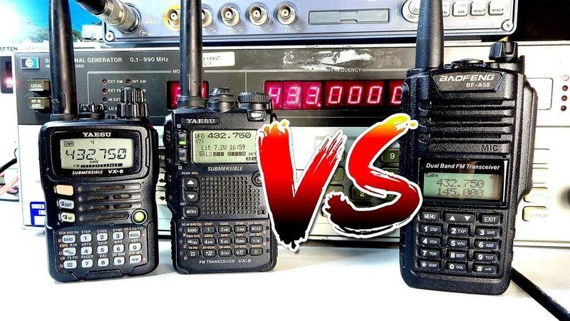 RadioVLOG - Yaesu vs Baofeng