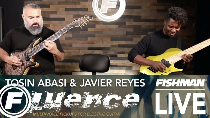 Live with Tosin Abasi and Javier Reyes from Fishman