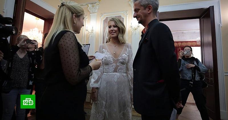 «Только смерть разлучит» траурная свадьба Ксении Собчак