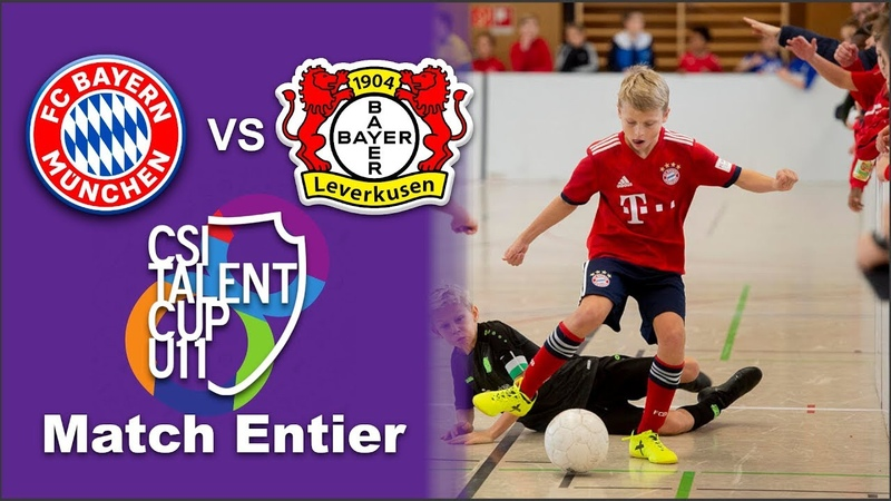Bayern Munich vs Bayer Leverkusen FINAL CSI Talent Cup 2019