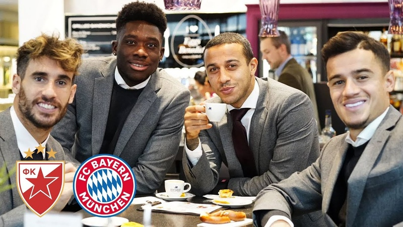 Unseen footage The day before FKCZFCB Alphonso Davies Interview