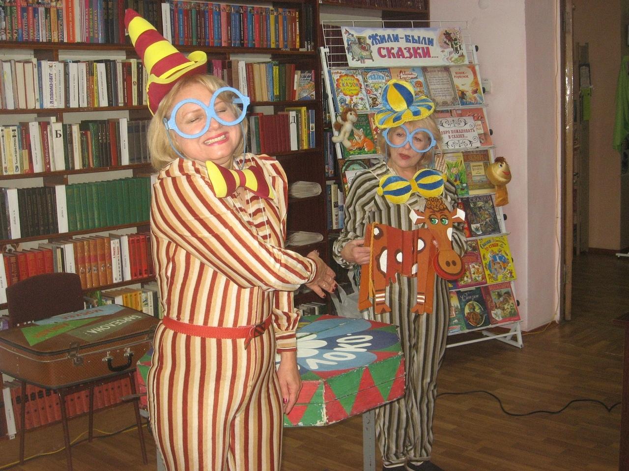 донецкая республиканская библиотека для детей, донецкий республиканский академический театр кукол,  отдел организации досуга для детей, с библиотекой интересно, день русских сказок в библиотеке