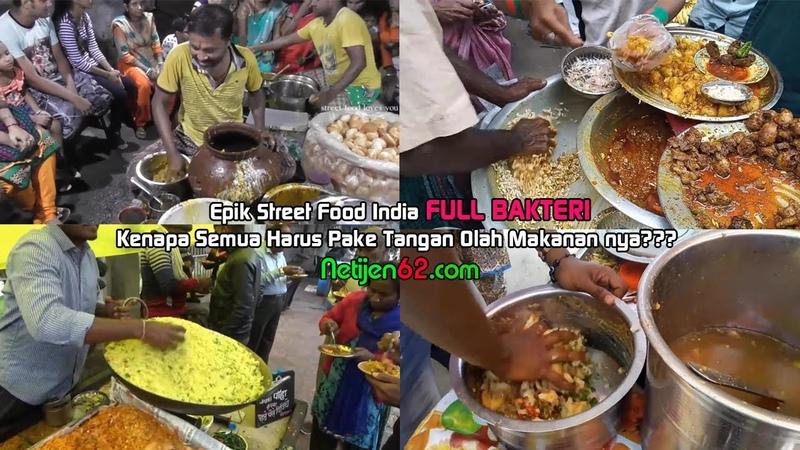 Kompilasi Video Jajanan Street Food India, Skip Video Ini kalo Anda Takut Jijik