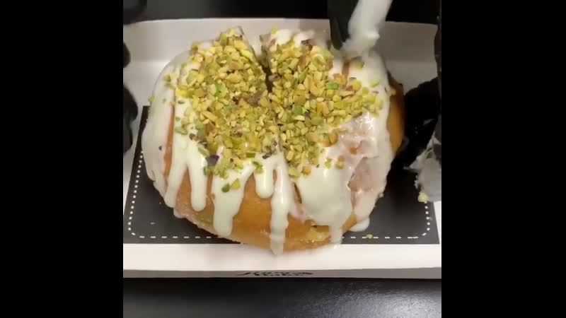 Фисташковый пончик