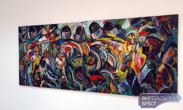 Экспозиция полотен «Человек и время» для зрителей «18+» представлена в Бресте