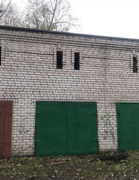 гараж кирпичный Северодвинская 13к1с1