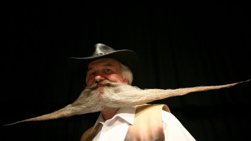 Чья борода лучше чемпионат бородачей и усачей в Блэкпуле