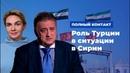 Роль Турции в ситуации в Сирии * Полный контакт с Владимиром Соловьевым (20.08.19)