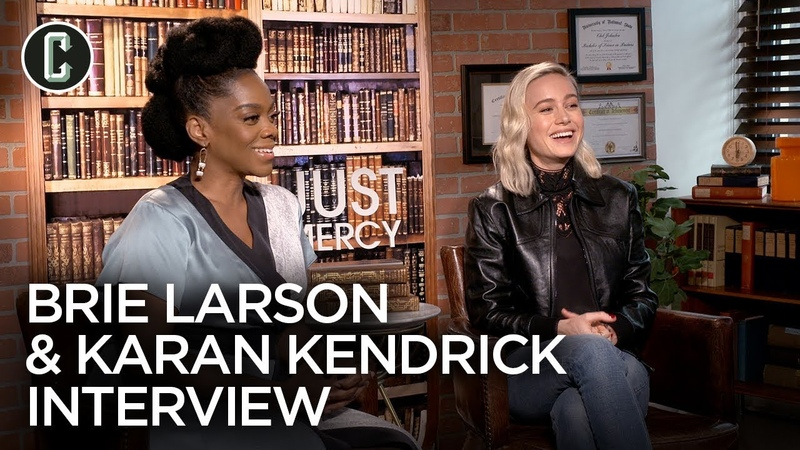 Brie Larson Karan Kendrick on How 'Just Mercy' Can Change People's Minds and Hearts