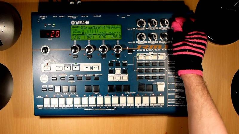 Yamaha RM1x 5 4 Bryan Boru Original Drum 'n' Bass track September 2012