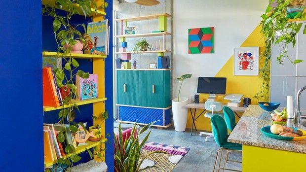 Райские тропики: дом для творческой пары в Атланте