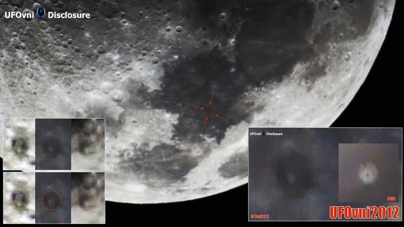 I Found A Ring UFO Near The Moon First Quarter With My Telescope April 30 2020