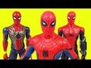 Человек Паук Марвел Мстители Супергерои Новые Игрушки Распаковка