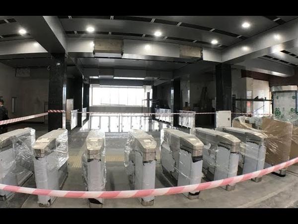 Станционный комплекс Шушары (Южная). Середина августа 2019