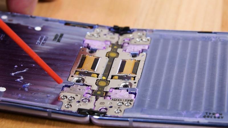 Galaxy Z Flip Teardown and Dust Test FAILURE!