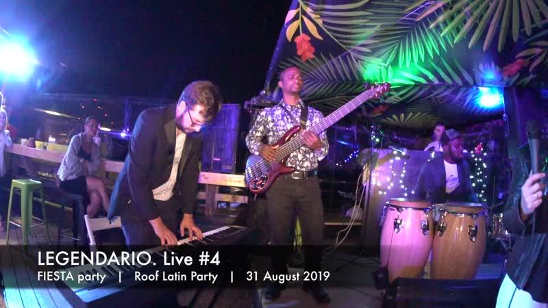 LEGENDARIO. Live 4    Fiesta party