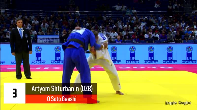 Top 15 ippons in day 1 of Judo Grand Prix Tashkent 2019 bjf_judo
