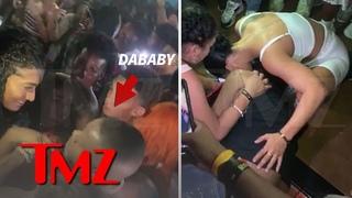 Телохранитель DaBaby избил девушку, которая пыталась замахнуться на артиста