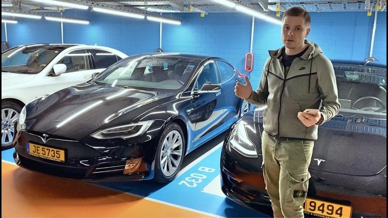 Как арендовать электромобиль в Европе через приложение на смартфоне