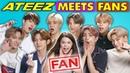 K Pop Fans React To And MEET K Pop Stars ATEEZ 에이티즈
