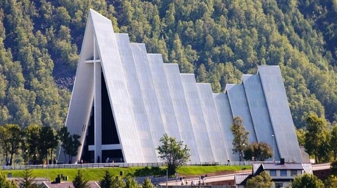 Арктический собор, Норвегия.