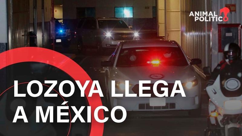 Lozoya llega a México acusado de corrupción y dispuesto a revelar información