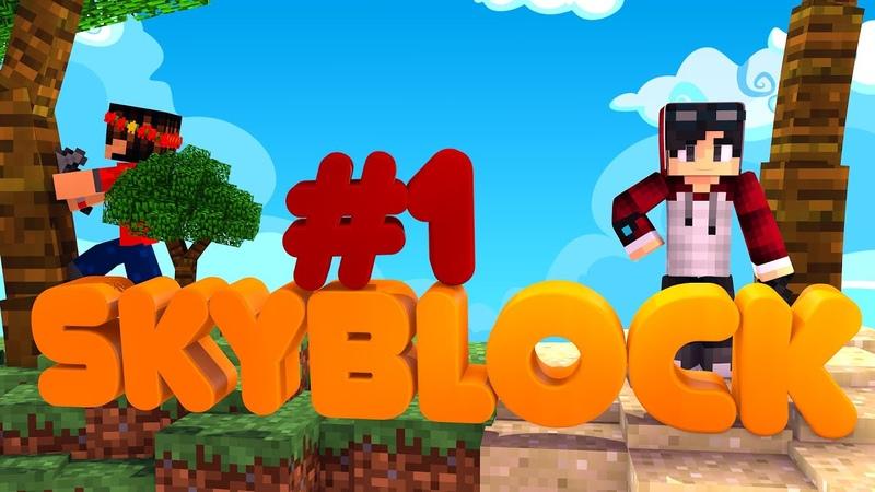 Новый сезон по скайблоку SkyBlock Minecraft Выживание на острове Rek Show