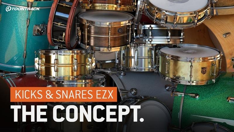 Kicks Snares EZX – The Concept
