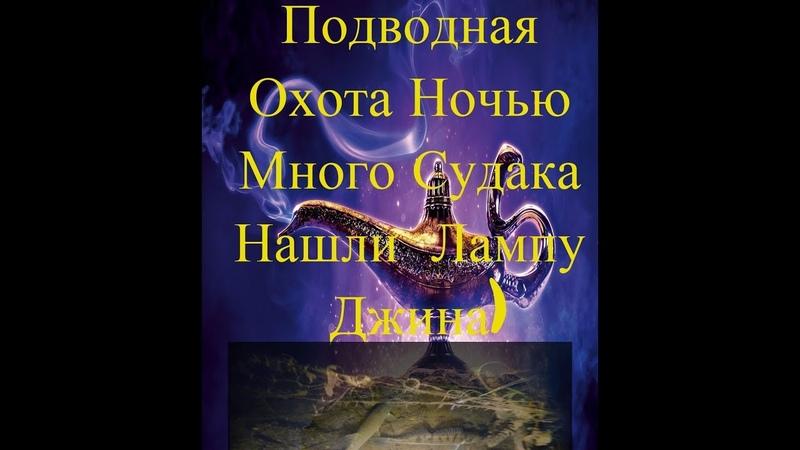 Подвоная Охота Ночью Осень Много Судака нашли Лампу Джина и древнюю посуду