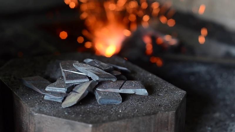 Blacksmithing How to make a steel wedge for hammers, axes etc.* Rune Malte Bertram-Nielsen 26.08.2018