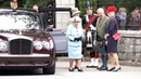 The Queen officially welcomed by guard of honour to Balmoral Castle in Scotland for summer 2019