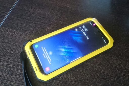 Крайне любопытный суперчехол для Samsung s8