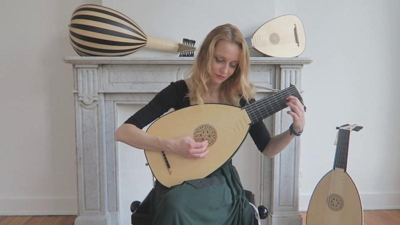 Ieva Baltmiskyte plays Galliard to Lachrimae by John Dowland on 8 course lute by Muzikkon