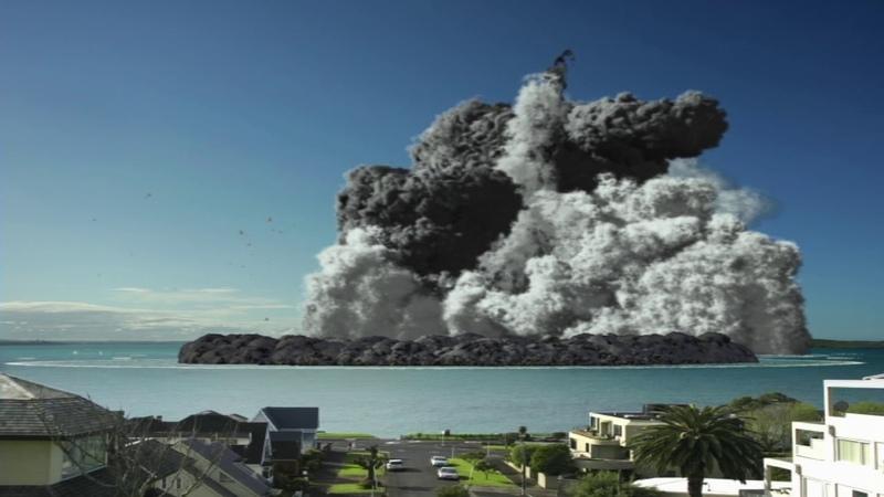 Auckland Museum Volcanic Eruption