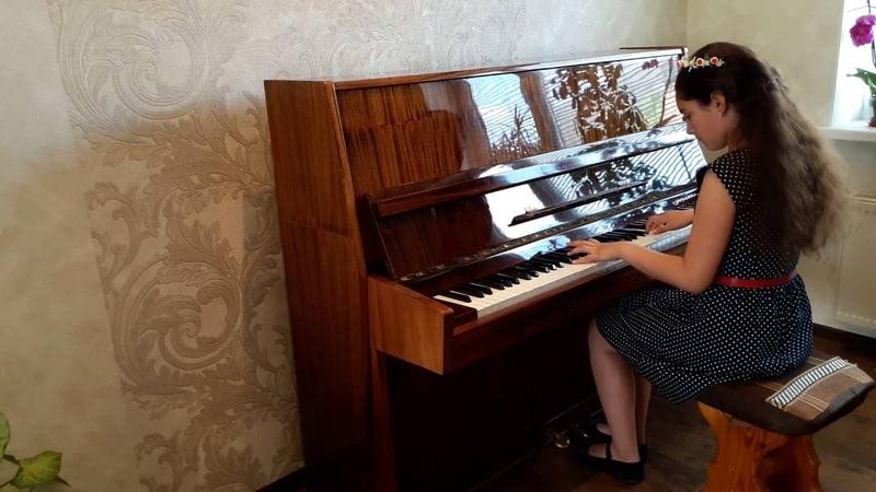 Гра на фортепіано, Ліза М. Перше кохання ( Р. Лісова)