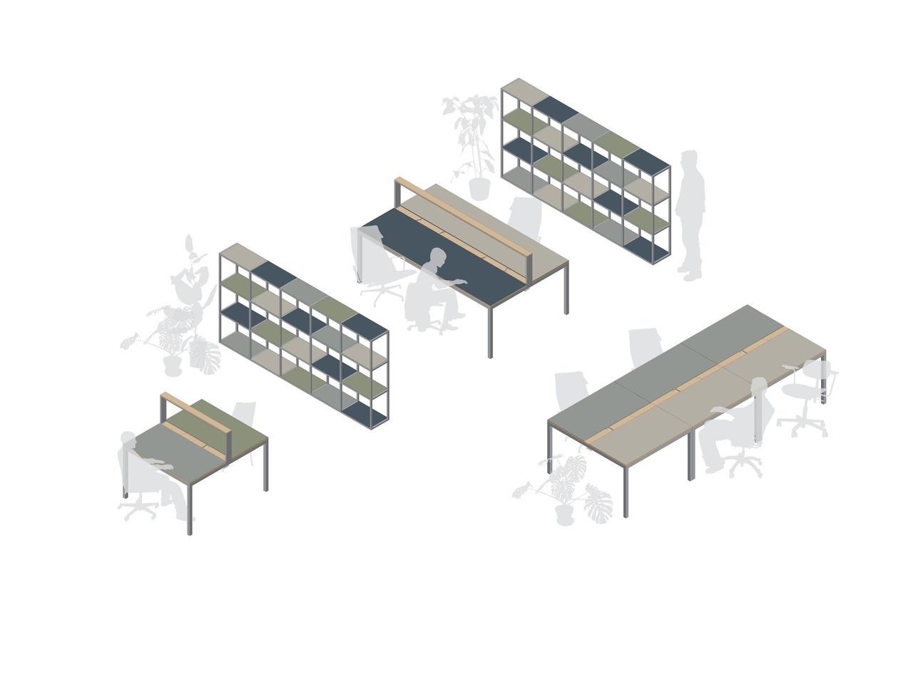 Burò Furniture Milan, Italy by mezzo atelier