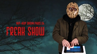 Lo-Fi Halloween Sample Pack Freak Show | Hip Hop Drum Pads 24