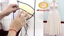 Học cách Draping cơ bản Thực hiện draping đầm corset thời trang trên mannequin