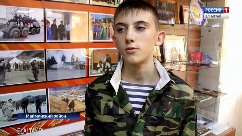 Бойцы Росгвардии провели встречу с кадетами Горно-Алтайских школ